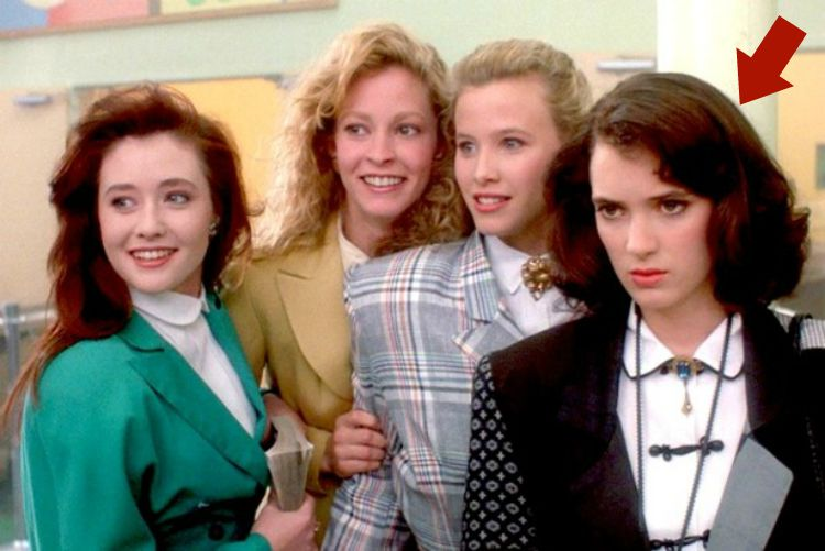 A Vintage Nerd, Pop Culture, 1988 Heathers Fashion, Heathers Vintage Clothing, Vintage Fashion in Modern Movies
