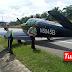 Pesawat mendarat cemas di Lebuhraya PLUS, kini ditunda ke lokasi selamat
