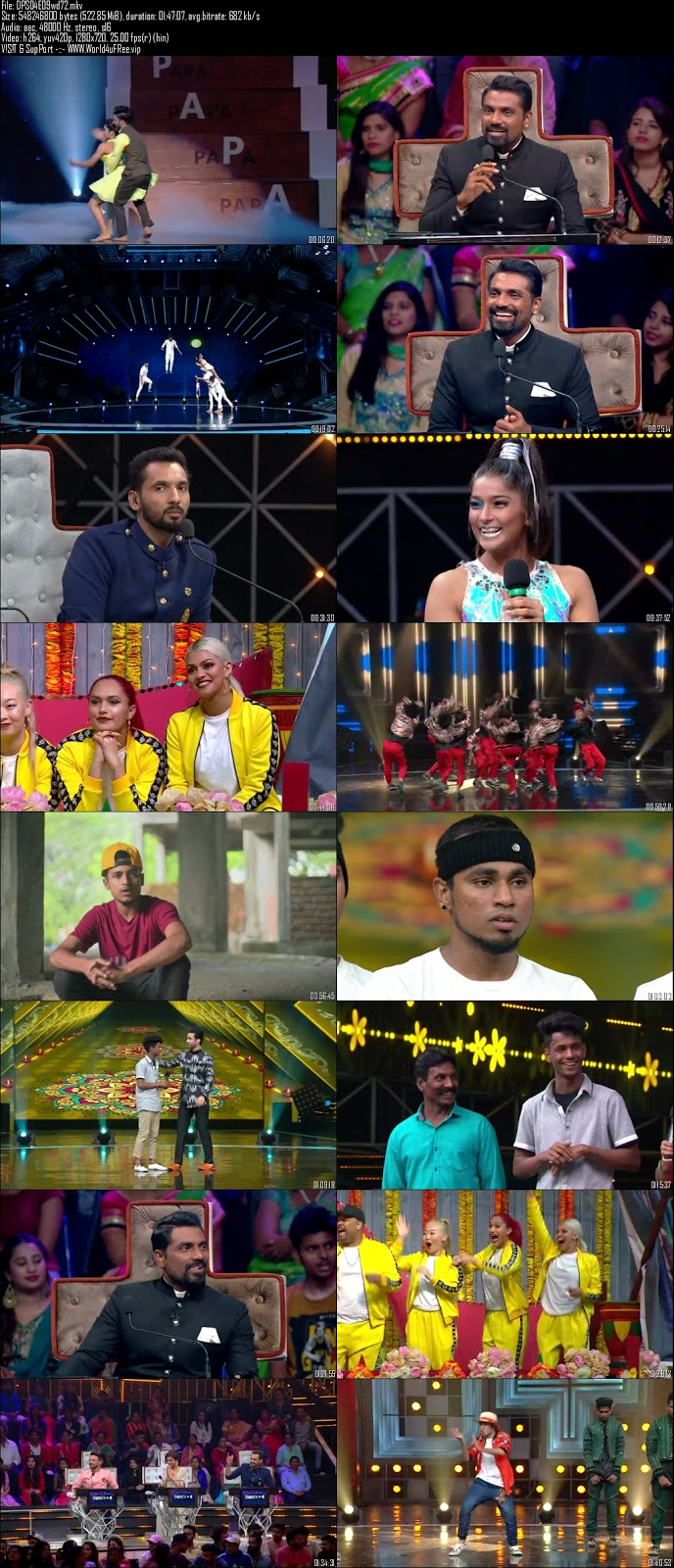 Dance Plus S4 03 November 2018 720p HDTV 500Mb x264 world4ufree.fun tv show Dance Plus 4 2018 hindi tv show Dance Plus 4 2018 Season 4 Star Plus tv show compressed small size free download or watch online at world4ufree.fun