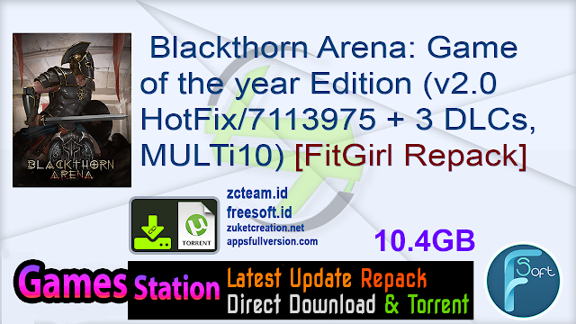 Blackthorn Arena: Game of the year Edition (v2.0 HotFix/7113975 + 3 DLCs, MULTi10) [FitGirl Repack]
