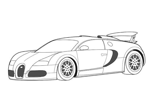 imagenes de carros para colorear deportivos