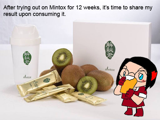 【HEALTH】Mintox Detox - the result after 12 weeks
