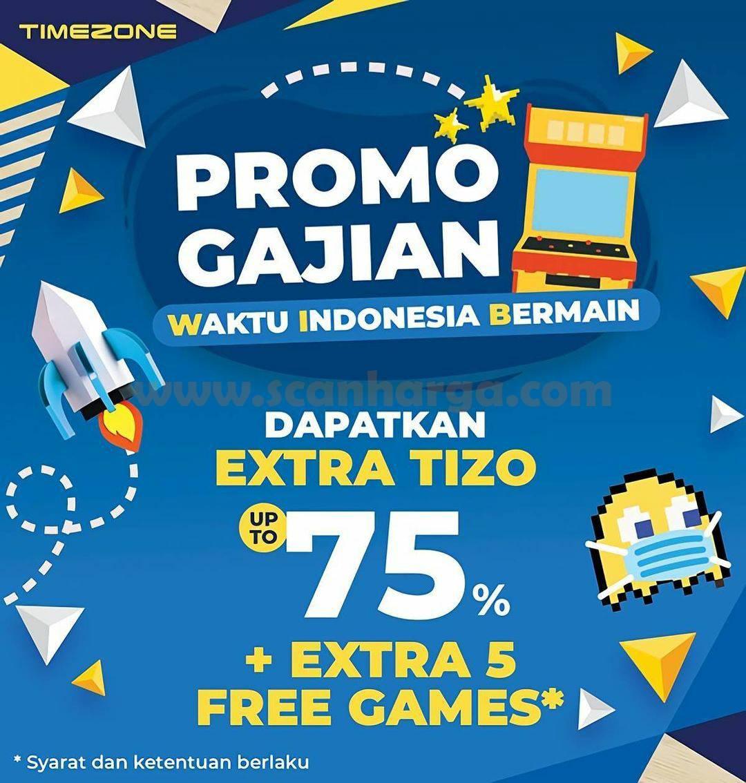 Promo Timezone GAJIAN Periode 25 - 31 Agustus 2021