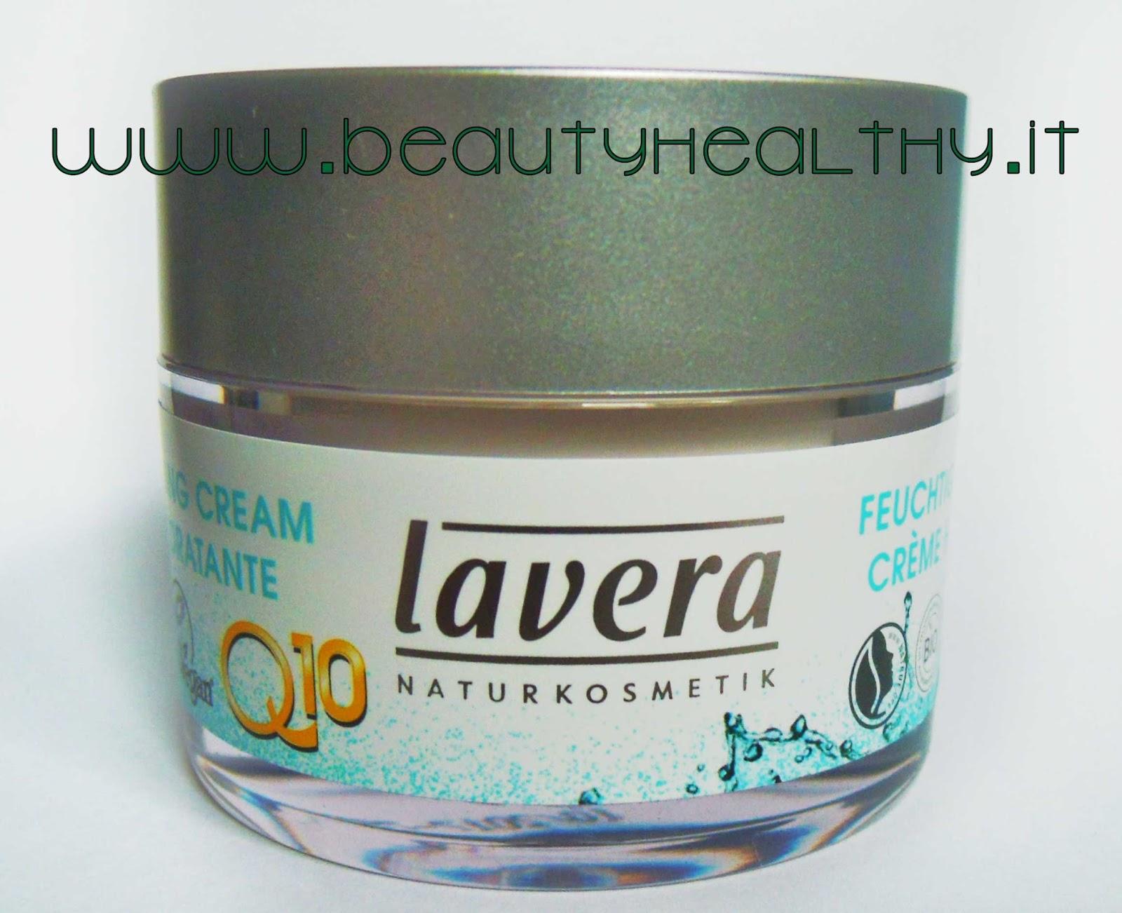 lavera crema viso idratante q10