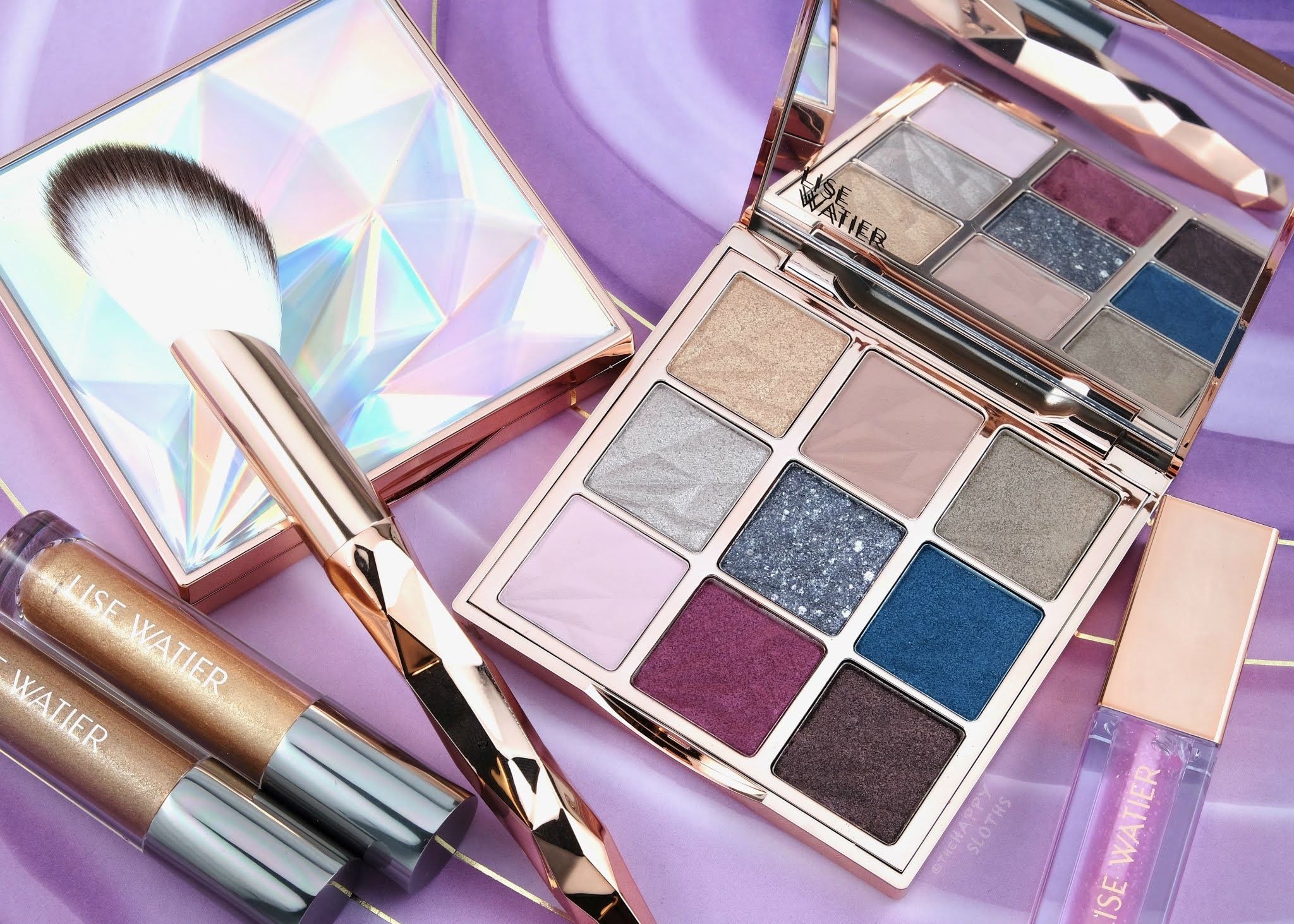 Lise Watier   Holiday 2020 Diamond Dreams Collection: Review and Swatches