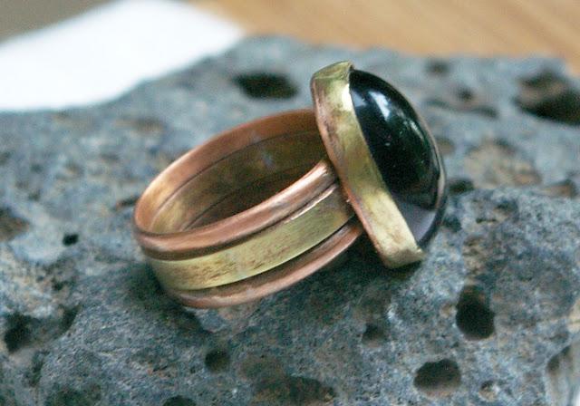https://www.etsy.com/ca/listing/618509668/dark-purple-glass-ring-mixed-metal