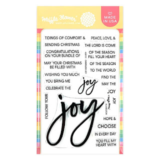 OVERSIZED JOY Clear Stamps