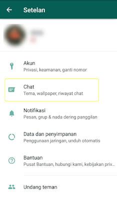 cara mengubah tampilan dark mode whatsapp android