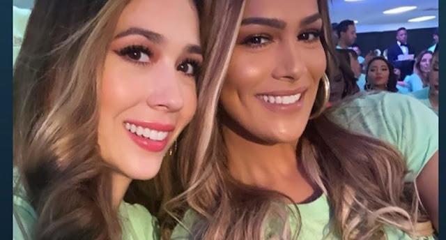 Ellas en la noche sería el nombre del show de TV de Caroline y Nahiony