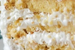 Moist Fluffy Coconut Cake