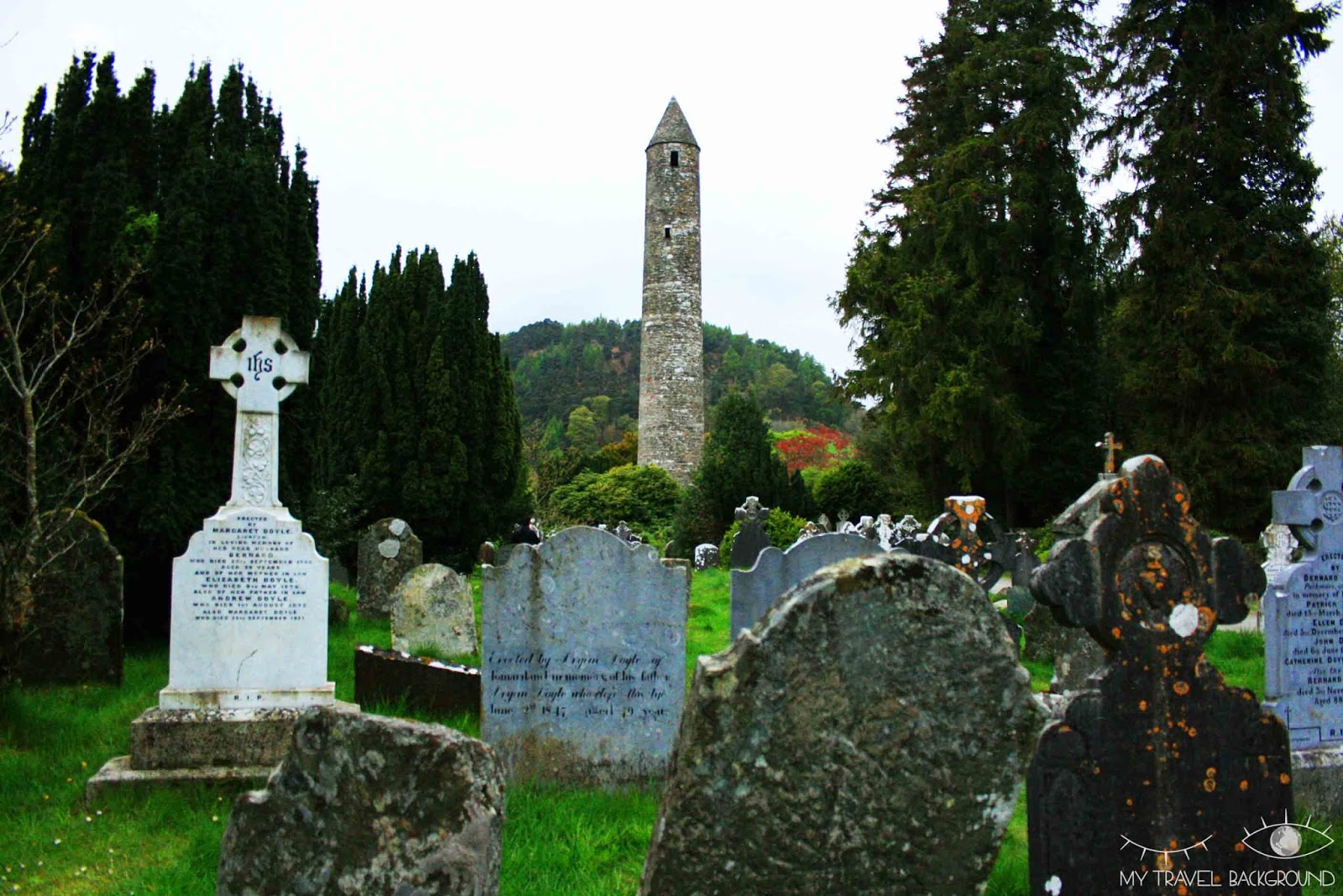 My Travel Background : les Wicklow Moutains - Glendalough