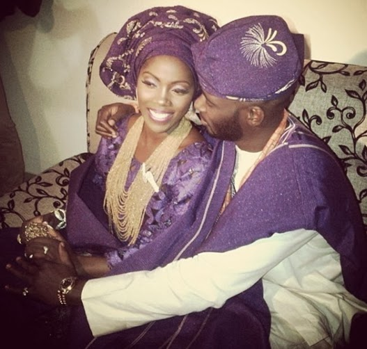 tiwa savage wedding pictures sold ovation magazine