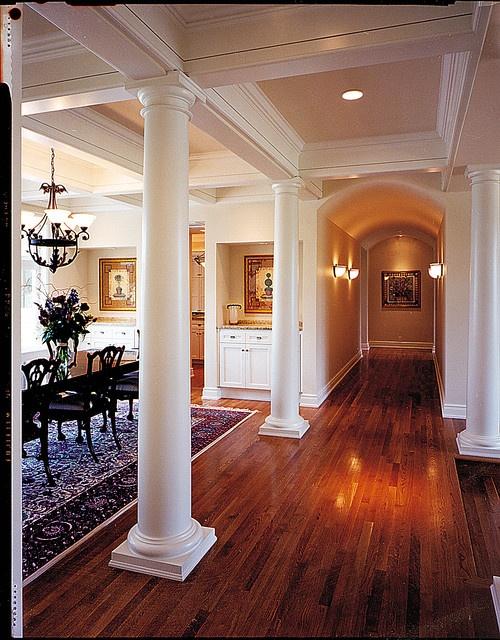 Home Decorating Ideas: Stunning Living Room Columns Ideas