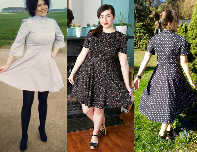 Martha dress sewing pattern - Tilly and the Buttons