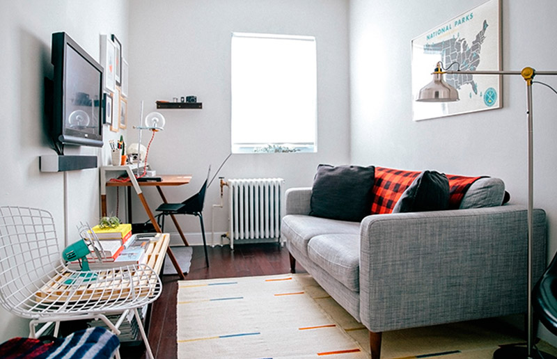 5 dicas para aproveitar melhor o espaço de um sala pequena!