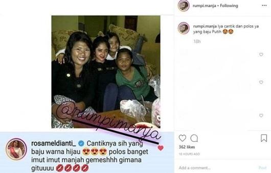 Nggak Malu Foto Lawasnya Kena Bully Netizen, Meldi: Imut-imut Manja!