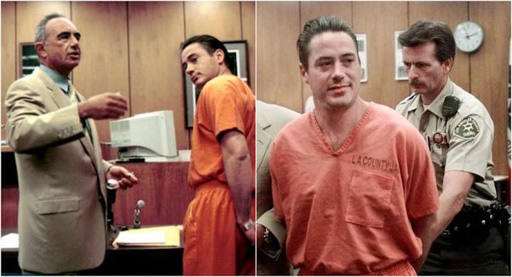 Robert Downey Jr en prisión