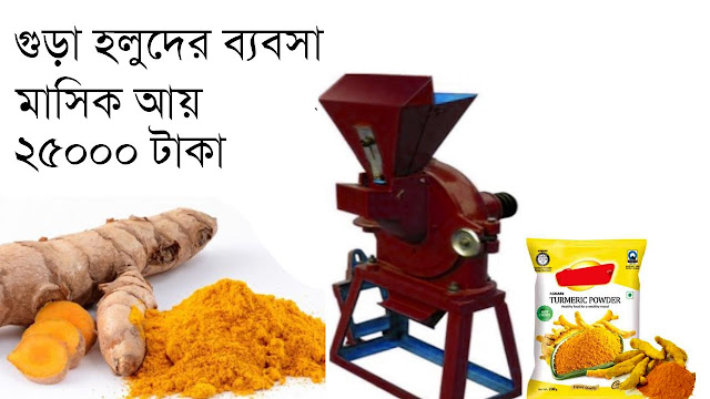 Turmeric grinding machine business