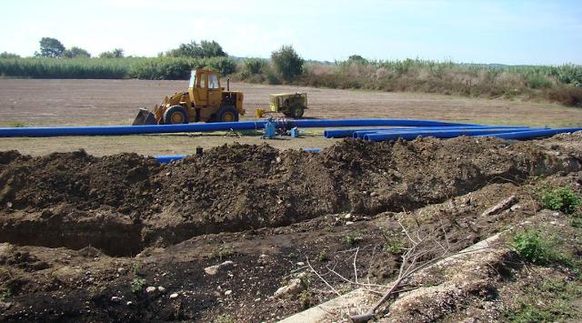 Πρέβεζα: Ολοκληρώνεται το έργο κατασκευής του νέου αγωγού ύδρευσης Ζέφυρος-Κανάλι