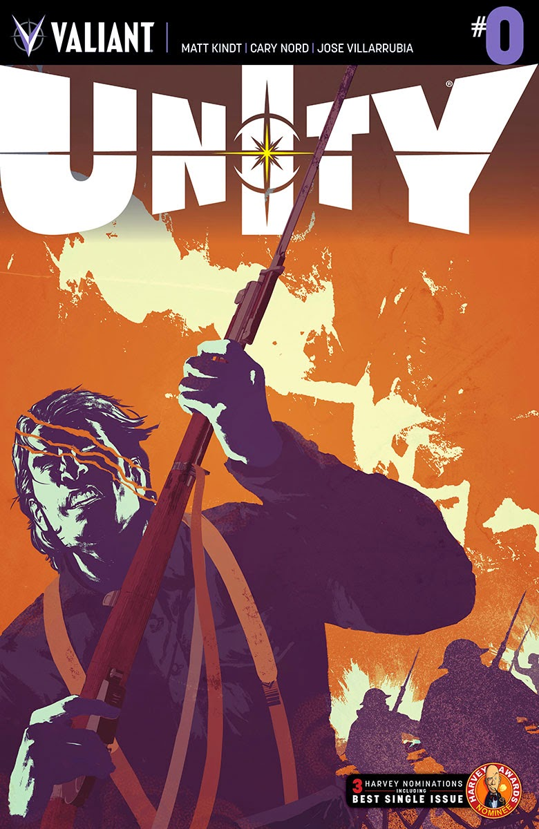 Valiant Previews: UNITY #0 by Matt Kindt and Cary Nord