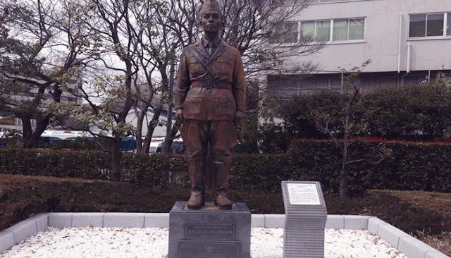 Patung Jendral Soedirman di Jepang