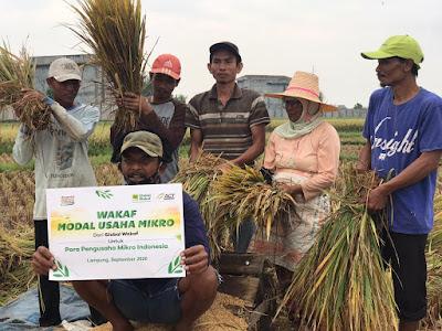 ACT Lampung Launching Program Wakaf Modal Usaha Mikro (WMUM)