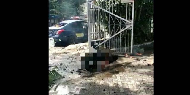 Saksi Cerita Ledakan di Depan Gereja Katedral Makassar: Besar Sekali!