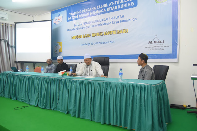 Training Perdana Metode Tashil At-Thullab Sukses Dilaksanakan