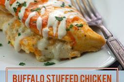 Stuffed Buffalo Chicken