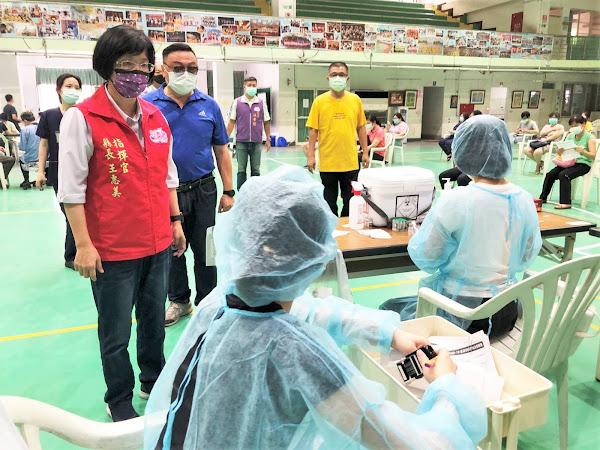 彰化縣疫苗預約接種踴躍 連二天施打率達98%