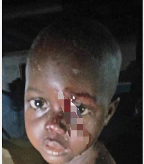 Unidentified woman throws 3-year-old boy into a well in Delta