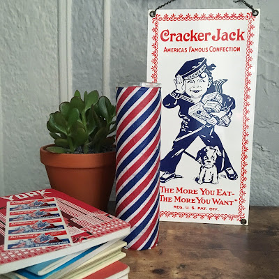 Patriotic Napkin Candles by Crafty Lumberjack