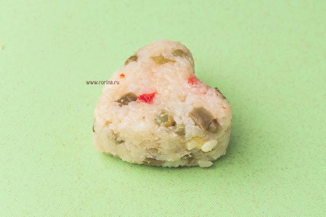 Рисовые шарики рецепты с фото