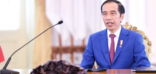 Presiden Joko Widodo Menghadiri Peringatan HUT ke 22 PAN Melalui Tayangan Virtual