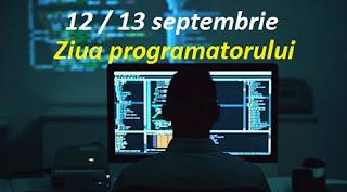 12 / 13 septembrie - Ziua programatorului