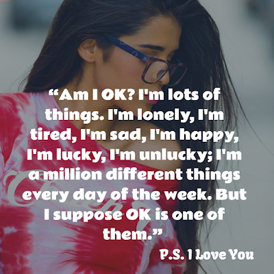 best romantic quotes from PS I LOVE YOU