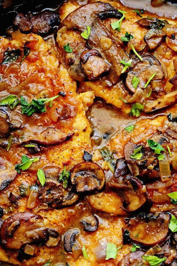 Skinny Chicken Marsala (Healthy Chicken Marsala)