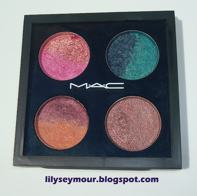 My Custom Made Mac Pigment Quad
