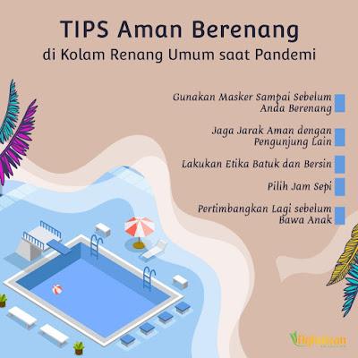 tips aman berenang