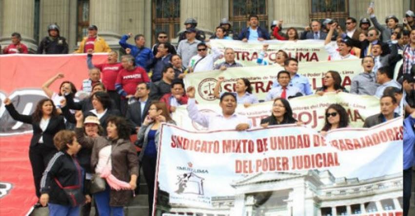 Trabajadores judiciales acuerdan huelga indefinida desde el 21 de noviembre