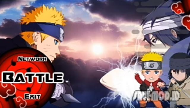 Download Naruto Senki Overcrazy MOD APK Full Character