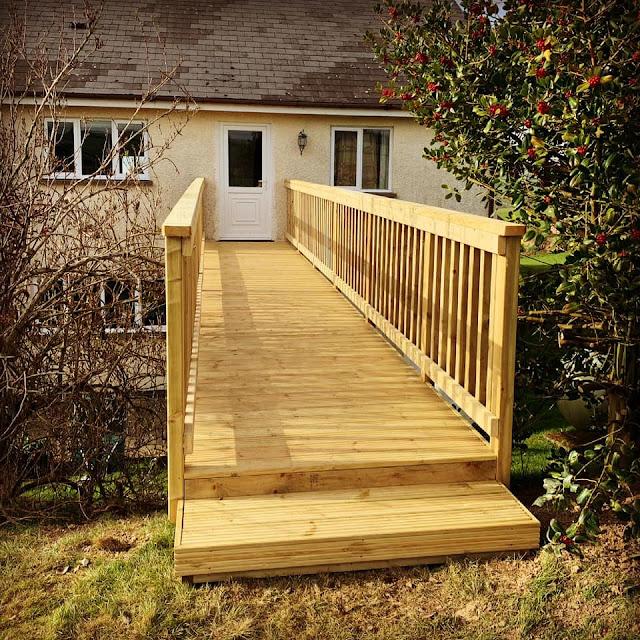 timber decking bridge