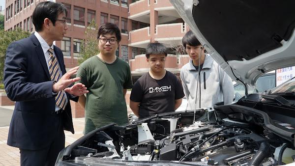 國瑞汽車贈大葉大學教學用車 培育汽車職人