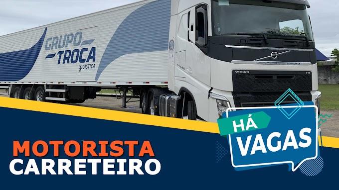 Grupo Troca abre vagas para Motorista Carreteiro