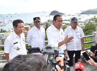 Kawasan Terpadu Marina yang akan Jadi Area Wisata Baru di Labuan Bajo Dikunjungi Presiden