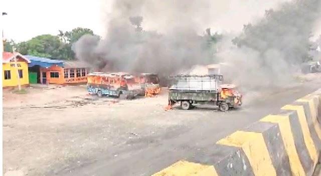 बंगाल जिले में किशोरी की मौत पर हिंसा; भाजपा, टीएमसी व्यापार प्रभार