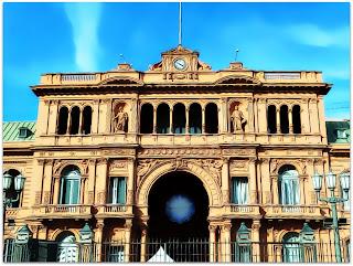 Evita - Casa Rosada, Buenos Aires