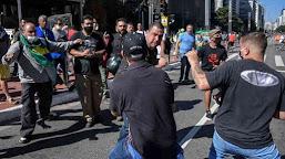 Rio e SP têm confronto entre manifestantes neste domingo