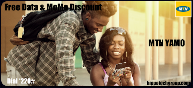 Free Internet Data and MoMo Discount on MTN YaMo0