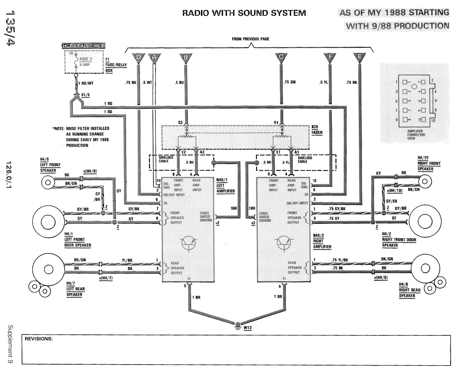 560sec Door speaker wiring?  MercedesBenz Forum